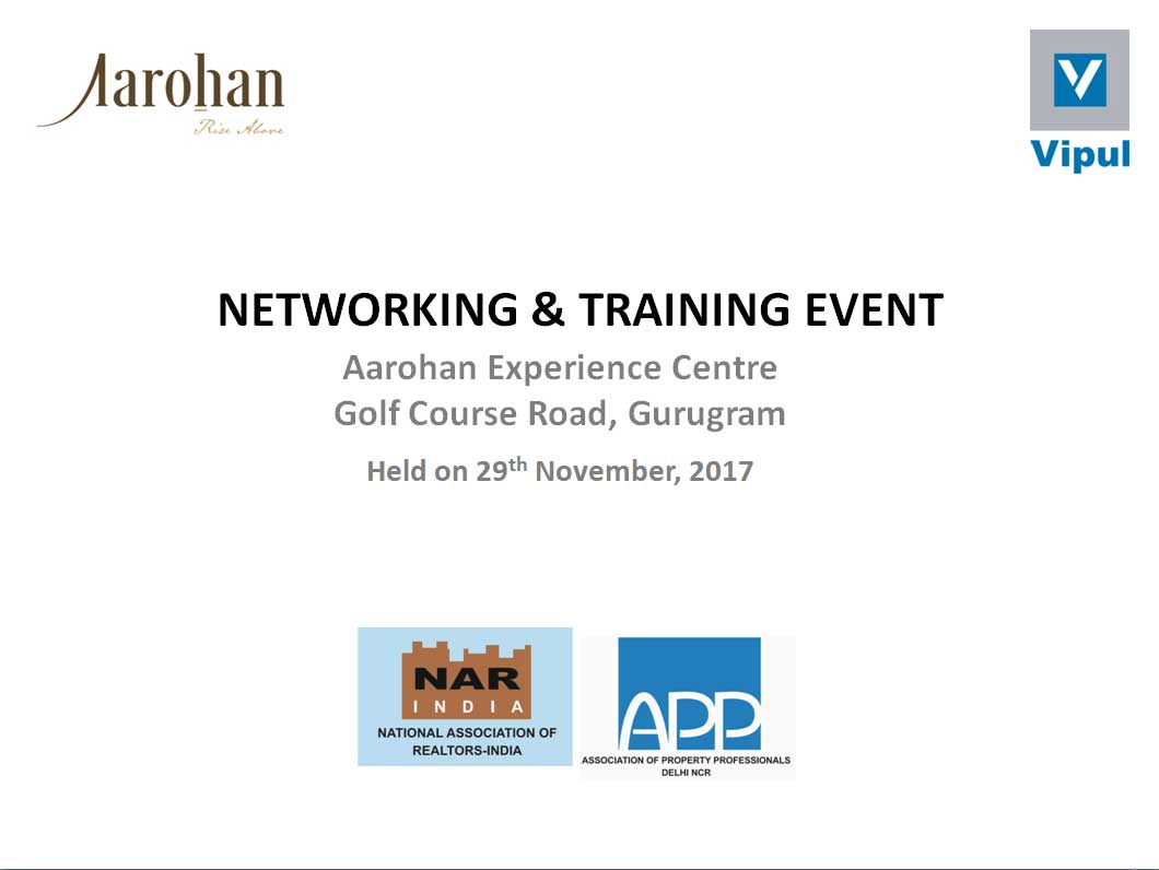 NETWORKING & TRAINING EVENT