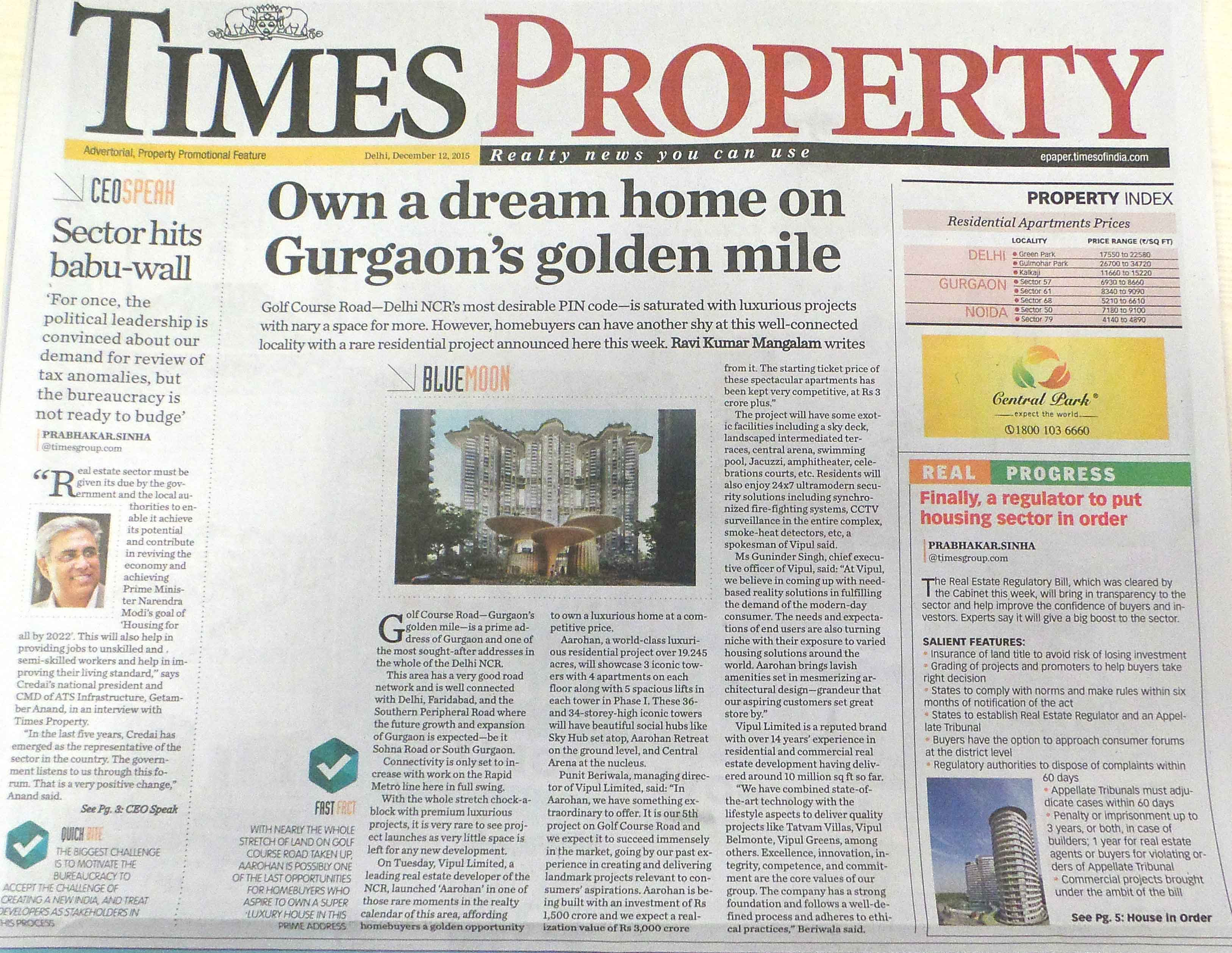 Times Property-12th December 2015