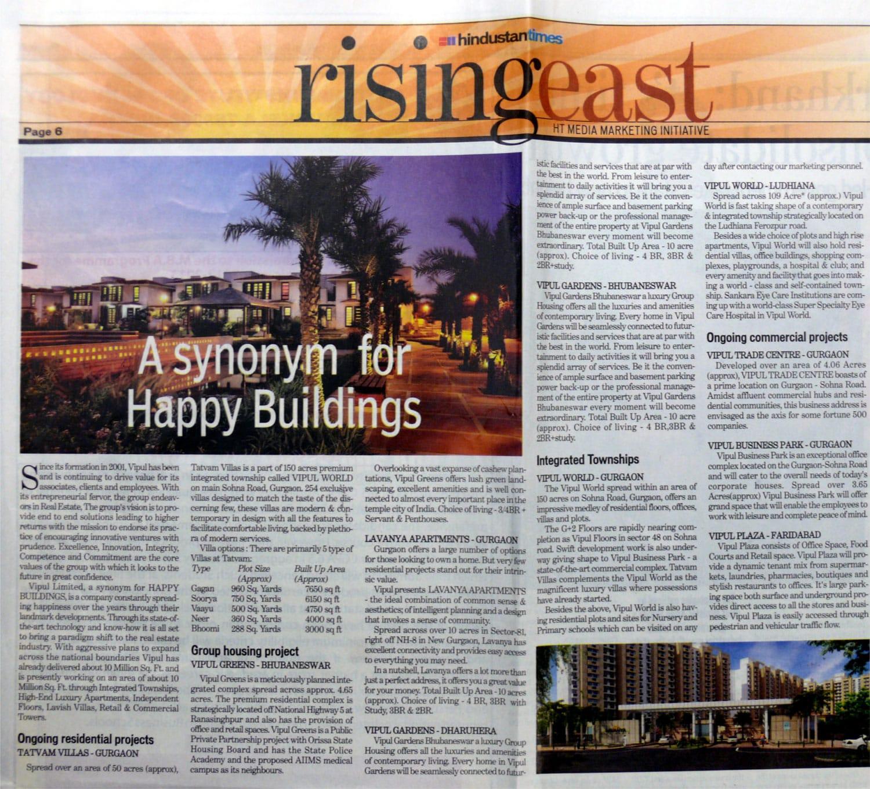 HT Rising East - Feb 2012