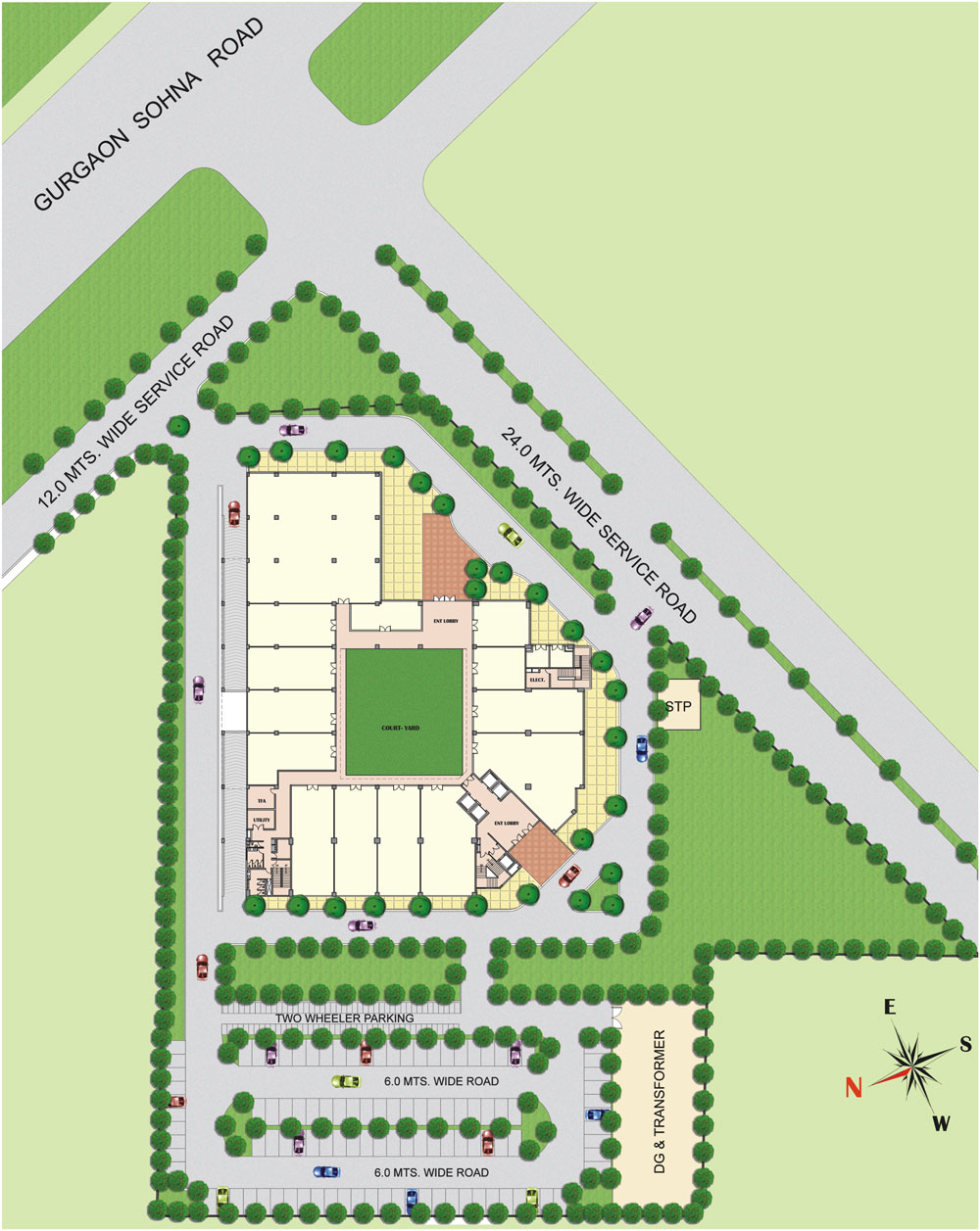 Site LayoutVipul Business Park
