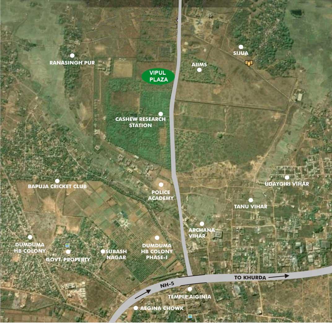 Location MapVipul Plaza